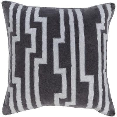Velocity Poly Fill Pillow - Charcoal--Home Accessories