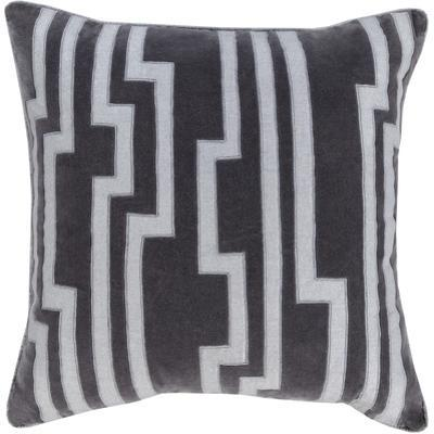 Velocity Poly Fill Pillow - Charcoal