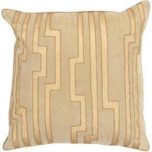 Velocity Poly Fill Pillow - Gold