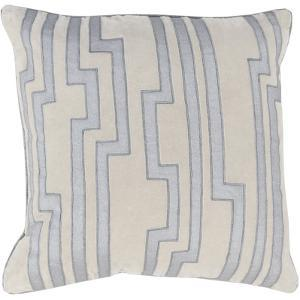 Velocity Poly Fill Pillow - Silver