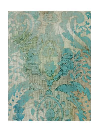 Velvet and Damask III-Chariklia Zarris-Art Print