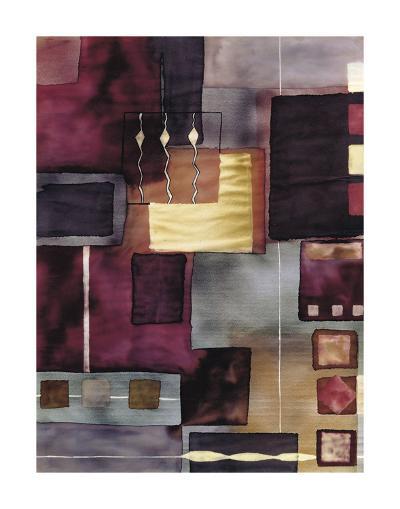 Velvet Jigsaw-Muriel Verger-Art Print