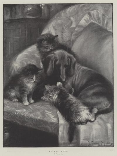 Velvet Paws-Fannie Moody-Giclee Print