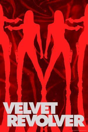 Velvet Revolver - Red Silhouettes