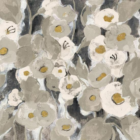 Velvety Florals Neutral II-Silvia Vassileva-Art Print