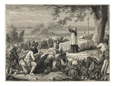Vendee : Catholics--Giclee Print