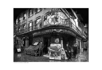 Vendors on Sixth Avenue, Brooklyn, c.1908--Art Print