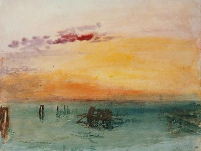 Venedig, View from Fusina, 1840-J^ M^ W^ Turner-Giclee Print