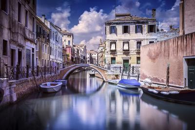 Venetian Canal, Venice, Italy--Photographic Print