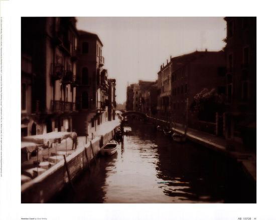 Venetian Canal-David Westby-Art Print