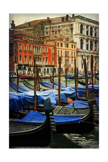 Venetian Canals I-Danny Head-Art Print