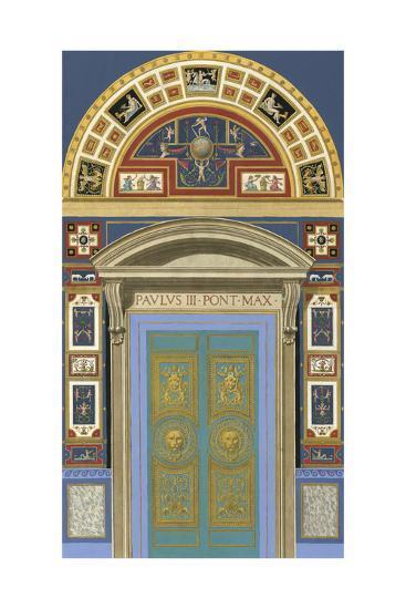 Venetian Door I--Art Print