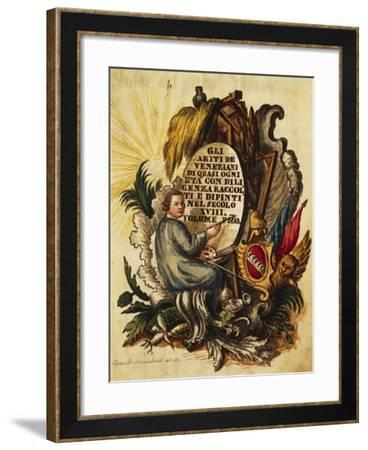 Venetian Dress for All Ages-Giovanni Grevembroch-Framed Giclee Print