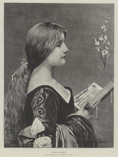 Venetian Evensong-Jules Joseph Lefebvre-Giclee Print