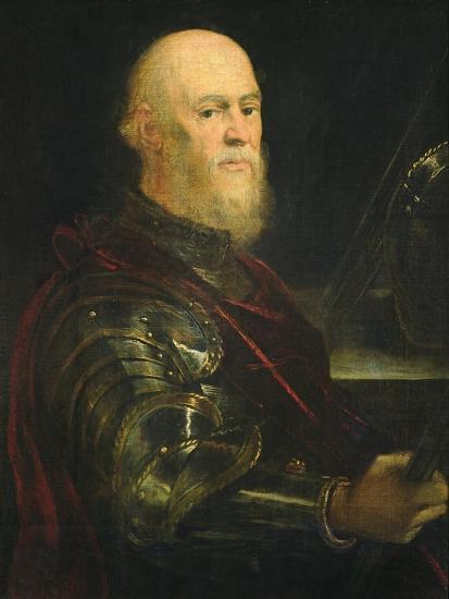 Venetian General, 1570-75-Jacopo Robusti Tintoretto-Giclee Print