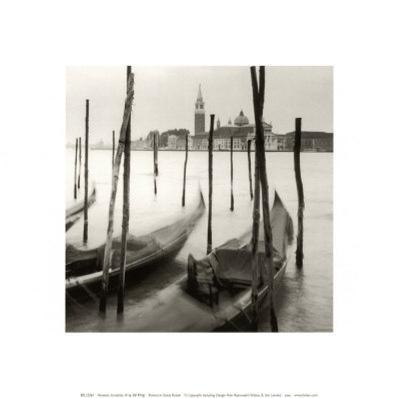 Venetian Gondolas III-Bill Philip-Art Print