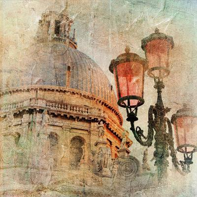 Venetian Pictures - Artwork In Painting Style-Maugli-l-Art Print