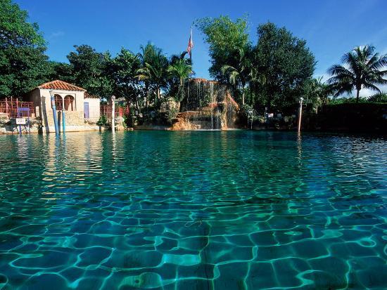 Venetian Pool, Coral Gables, Miami, FL-Robin Hill-Photographic Print