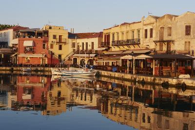 Venetian Port of Rethymnon, Crete, Greek Islands, Greece, Europe-Bruno Morandi-Photographic Print