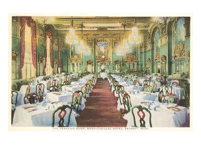 Venetian Room, Book-Cadillac Hotel, Detroit, Michigan--Art Print