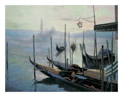 Venetian Twilight-Julien V-Art Print