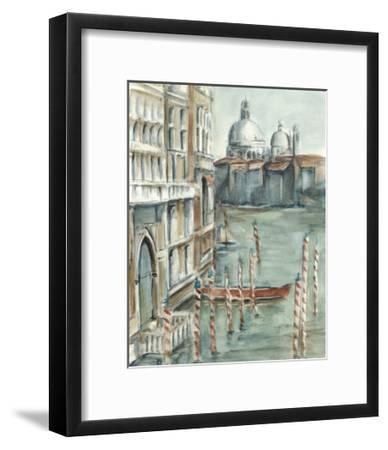Venetian Watercolor Study I-Ethan Harper-Framed Premium Giclee Print