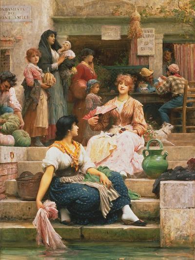 Venetians, 1885-Sir Samuel Luke Fildes-Giclee Print