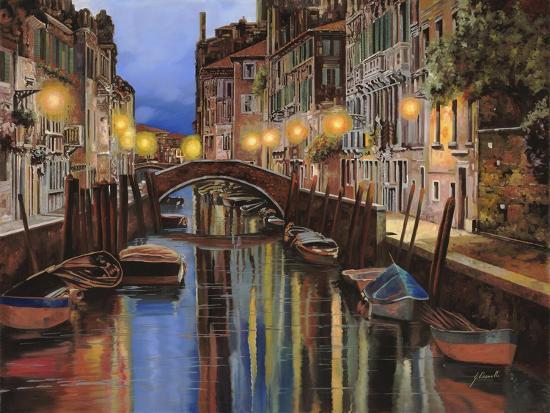 Venezia All'Alba-Guido Borelli-Giclee Print