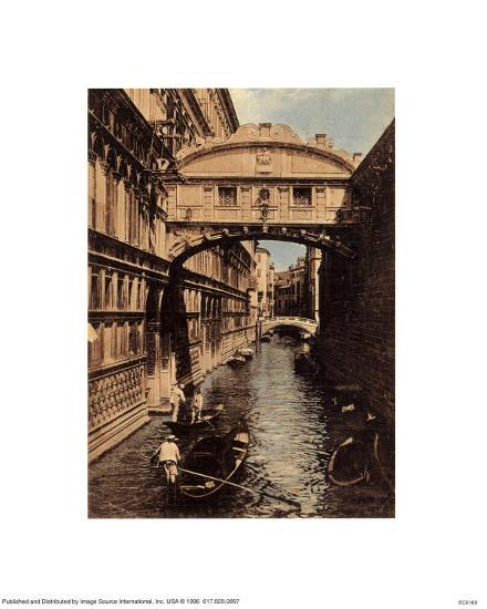 Venezia - Ponte Dei Sospiri--Art Print