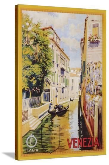 Venezia--Stretched Canvas Print