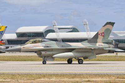 Venezuelan Air Force F-16 at Natal Air Force Base, Brazil-Stocktrek Images-Photographic Print