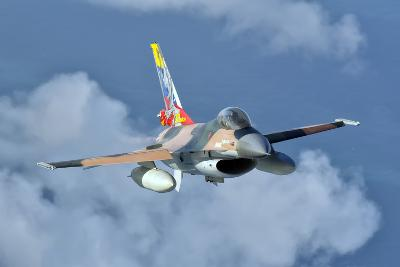 Venezuelan Air Force F-16 in Flight over Brazil-Stocktrek Images-Photographic Print