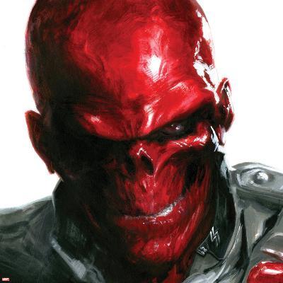Vengeance No.5 Cover: Headshot of Red Skull-Gabriele DellOtto-Art Print