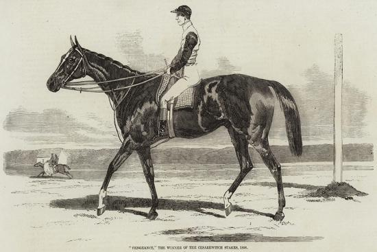 Vengeance, the Winner of the Cesarewitch Stakes, 1856--Giclee Print