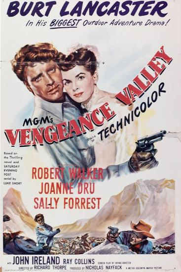 Vengeance Valley, 1951, Directed by Richard Thorpe--Giclee Print
