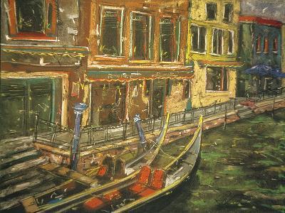 Venice 13, 1995-Geoffrey Robinson-Giclee Print