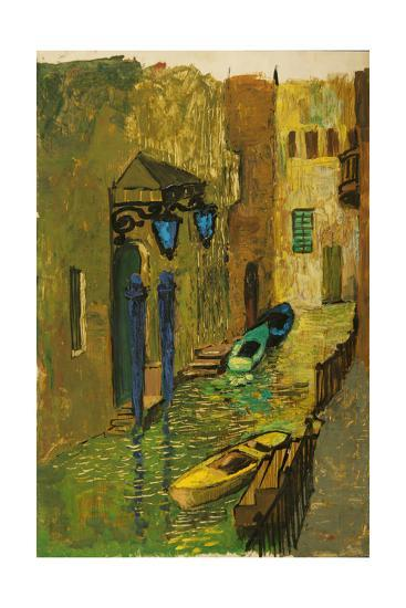 Venice, 1963-Nina Ivanovna Shirokova-Giclee Print