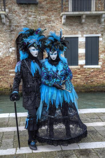 Venice at Carnival Time, Italy-Darrell Gulin-Photographic Print