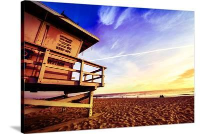 Venice Beach Lifeguard Stand--Stretched Canvas Print
