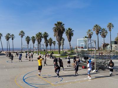 Venice Beach, Los Angeles, California, United States of America, North America-Sergio Pitamitz-Photographic Print