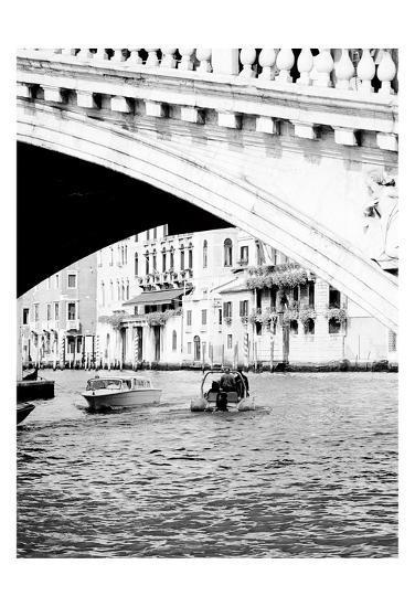 Venice Boat Ride-Jeff Pica-Art Print