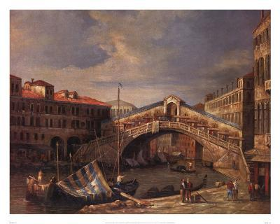 Venice Bridge-Paul Stanley-Art Print