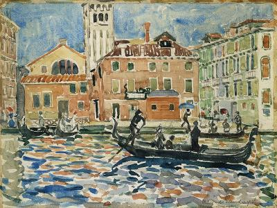 Venice, c.1909-Maurice Brazil Prendergast-Giclee Print