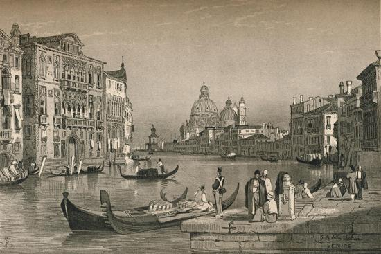'Venice', c1830 (1915)-Samuel Prout-Giclee Print