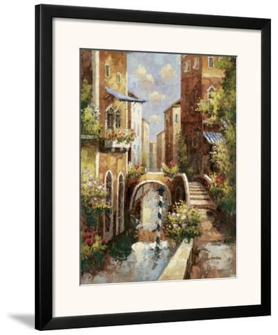 Venice Canal II-Peter Bell-Framed Art Print