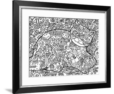 Venice Cat-Oxana Zaika-Framed Giclee Print
