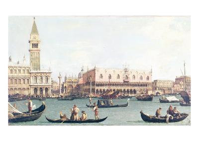 Venice from the Bacino-Canaletto-Giclee Print