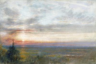 Venice from the Mainland, 1908-Albert Goodwin-Giclee Print