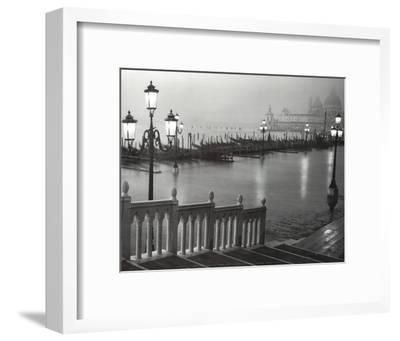 Venice (Grand Canal, B&W) Art Poster Print