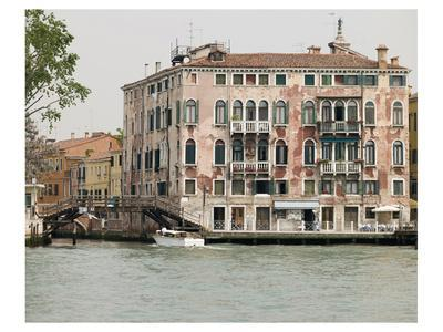 Venice Houses By Canal Italy--Art Print